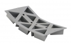 Elastomoule 10 triangles De Buyer