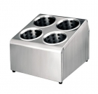 Porte-couverts inox Lacor