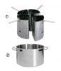 Cuit-pâtes 4 Segments Inox De Buyer
