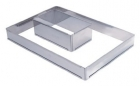 Forme ajustable rectangle inox De buyer
