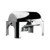 Chafing Dish Roll Top GN1/1 Pieds Inox Lacor