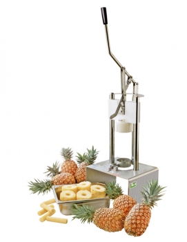 Eplucheur et vide ananas professionnel tellier cuisin 39 resto - Conservation ananas coupe ...